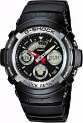 Ceas Barbatesc Casio G-Shock AW-590-1A Black Ceasuri barbatesti