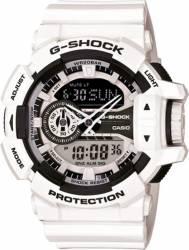 Ceas Barbatesc Casio G-Shock GA-400-7AER White-Black Ceasuri barbatesti