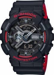 Ceas Barbatesc Casio GA-110HR-1AER Black-Red Ceasuri barbatesti