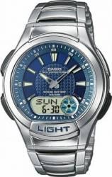 Ceas Barbatesc Casio Sport AQ-180WD-2A Cadran Albastru Curea Metal