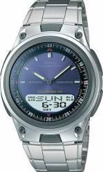 Ceas barbatesc Casio Sport AW-80D-2A Cadran Albastru Curea Metal Ceasuri barbatesti