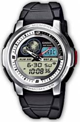 Ceas barbatesc Casio Sports AQF-102W-7B Curea Cauciuc cu Termometru Ceasuri barbatesti