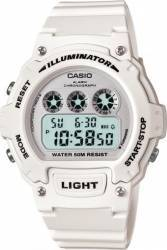 Ceas Barbatesc Casio Sports W-214HC-7A White Ceasuri barbatesti