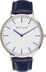 Ceas Barbatesc Executive Bow Tie EX-1017-06 Blue Ceasuri barbatesti