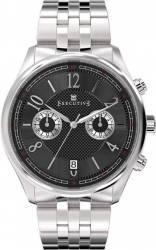 Ceas Barbatesc Executive Button Down EX-1006-11 Silver Black