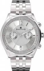 Ceas Barbatesc Executive Button Down EX-1006-12 Silver
