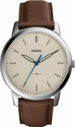 Ceas Barbatesc Fossil FS5306 The Minimalist Silver-Brown Ceasuri barbatesti