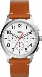 Ceas Barbatesc Fossil FS5360 Vintage 54 Silver-Brown ceasuri barbatesti