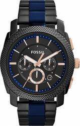 Ceas Barbatesc Fossil Machine FS5164 Black-Navy Ceasuri barbatesti