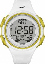 Ceas Barbatesc Head Slalom HE-100-03 White-Yellow Ceasuri barbatesti