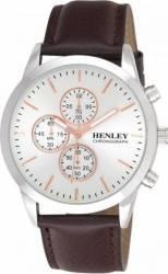 Ceas Barbatesc Henley Cronograf H02091C.4