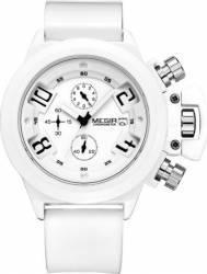 Ceas Barbatesc Megir Chronometre MN2002G/WE7 Alb Ceasuri barbatesti