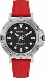 Ceas barbatesc Nautica NAD12549G Cadran negru Curea Cauciuc Ceasuri barbatesti