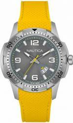 Ceas Barbatesc Nautica NAI12520G Yellow-Silver