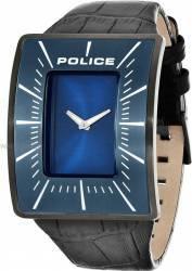 Ceas Barbatesc Police Vantage Albastru Curea Piele Neagra