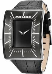 Ceas Barbatesc Police Vantage Negru Curea Piele Neagra