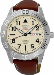 Ceas Barbatesc Seiko 5 Sports SRP757K1 Brown-Silver Ceasuri barbatesti
