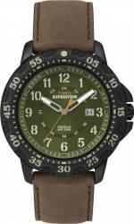Ceas Barbatesc Timex Expedition T49996 Cadran Verde Curea Piele