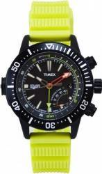 Ceas Barbatesc Timex Intelligent Quartz T2N958 Yellow-Black Ceasuri barbatesti
