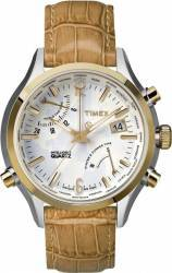Ceas Barbatesc Timex Intelligent Quartz TW2P87900 Crem-Auriu Ceasuri barbatesti