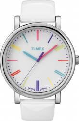 Ceas Dama Timex Originals T2N791 Cadran Alb Curea Piele Ceasuri de dama
