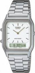 Ceas Casio Unisex Classic AQ-230A-7D Silver Ceasuri Unisex and Copii