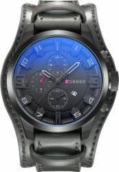 Ceas Curren Chronograph M8225 Negru Ceasuri barbatesti