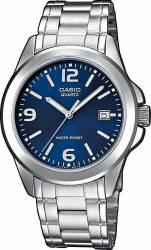 Ceas dama Casio Classic LTP-1259PD-2A Cadran Albastru Curea Metal Ceasuri de dama