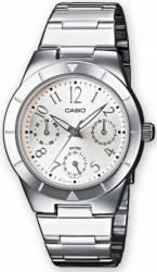 Ceas dama Casio Classic LTP-2069D-7A2 Cadran Alb Curea Metal Ceasuri de dama
