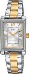 pret preturi Ceas Dama Casio LTP-1234PSG-7AEF Silver-Gold