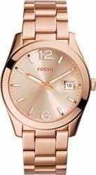 Ceas Dama Fossil ES3587 Cadran Auriu Curea Metal