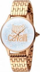 Ceas Dama Just Cavalli din Otel Inoxidabil Auriu Roz Ceasuri de dama