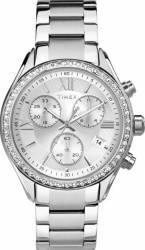 Ceas Dama Timex Kaleidoscope TW2P66800 Cadran Argintiu Curea Otel Inoxidabil Ceasuri de dama