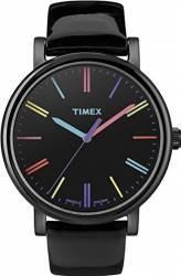 Ceas de Dama Timex Originals T2N790 Cadran Negru Curea Piele Ceasuri de dama