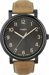 Ceas Barbatesc Timex ORIGINALS T2N677 Black-Brown Ceasuri barbatesti