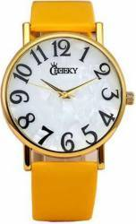 Ceas de Dama Cheeky HE008 Yellow Ceasuri de dama