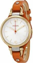 Ceas de Dama Fossil Georgia Three-Hand ES3565 Gold-Brown Ceasuri de dama