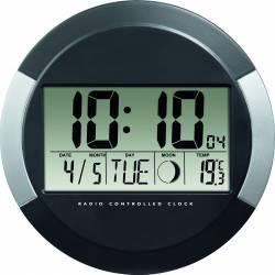 Ceas de perete Hama PP-245 Negru Ceasuri si Radio cu ceas