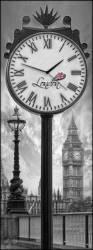 Ceas de perete Lupia London Clock 30 x 80 cm