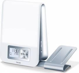 Ceas desteptator cu lampa Beurer WL80 LED 3 timpi de alarma Alb Ceasuri si Radio cu ceas