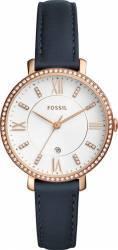 Ceas Fossil ES4291 Jacqueline Gold Navy Ceasuri de dama