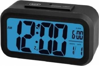 Ceas LCD cu alarma Trevi SLD 3068 Negru Ceasuri si Radio cu ceas