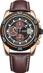Ceas Megir Chronometer Casual ML2023GREBN/1NO Maron Ceasuri barbatesti