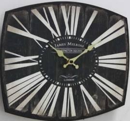 Ceas metalic de perete Melrose 28x35cm