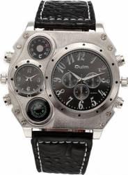 Ceas militar Oulm HP1349 dual time zone, negru Ceasuri barbatesti