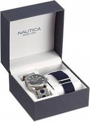 Ceas Nautica Barbatesc Box Set NAD14532G Grey-Navy Ceasuri barbatesti
