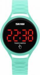 Ceas Skmei 1230 Digital led cu Touch Verde Ceasuri Unisex si Copii