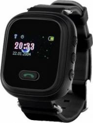 pret preturi Ceas SmartWatch copii iWearDigital Kids G78 functie telefon, buton SOS, monitorizare GPS, SIM Negru