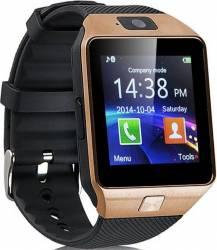 pret preturi Ceas Smartwatch iWearDigital DZ09 SIM Gold