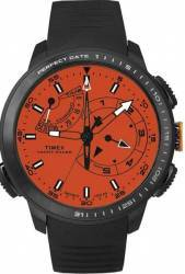 Ceas Timex Intelligent Quartz TW2P73100 Black-Orange Ceasuri barbatesti